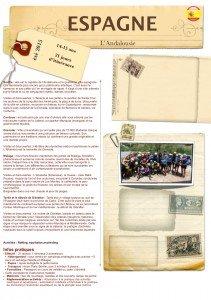 Brochure Espagne Andalouise, PEP 2015-1